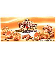 Конфеты  Papagena (Папагена вафельные шарики в арахисе с арахисовым кремом внутри) Австрия 120г