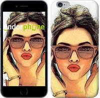 """Чехол на iPhone 6 Plus Девушка_арт """"3005c-48"""""""