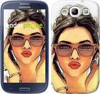 "Чехол на Samsung Galaxy S3 Duos I9300i Девушка_арт ""3005c-50"""