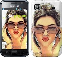 "Чехол на Samsung Galaxy S i9000 Девушка_арт ""3005c-77"""