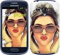 "Чехол на Samsung Galaxy S3 mini Девушка_арт ""3005c-31"""