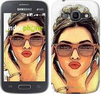 "Чехол на Samsung Galaxy Ace 3 Duos s7272 Девушка_арт ""3005c-33"""