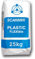 Клей Scanmix PLASTIC FLEXible 25 кг