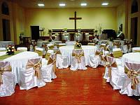 Свадебный чехол для стульев