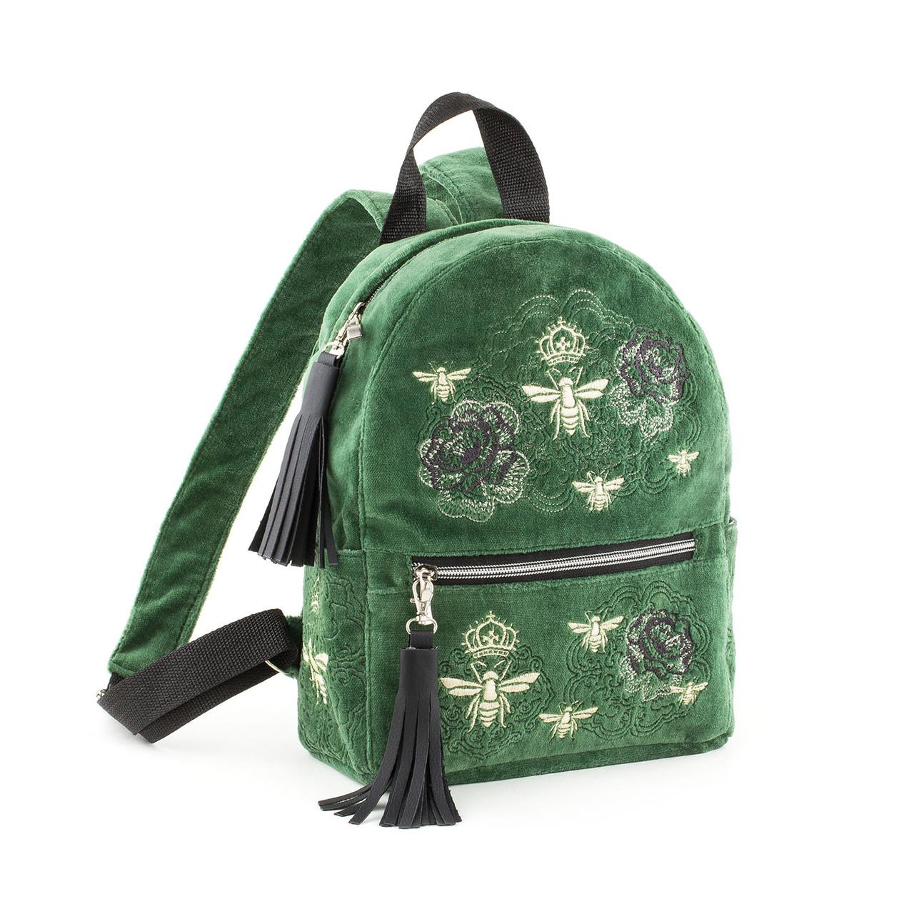 Рюкзак с вышивкой на заказ мужские кожаные сумки и рюкзаки