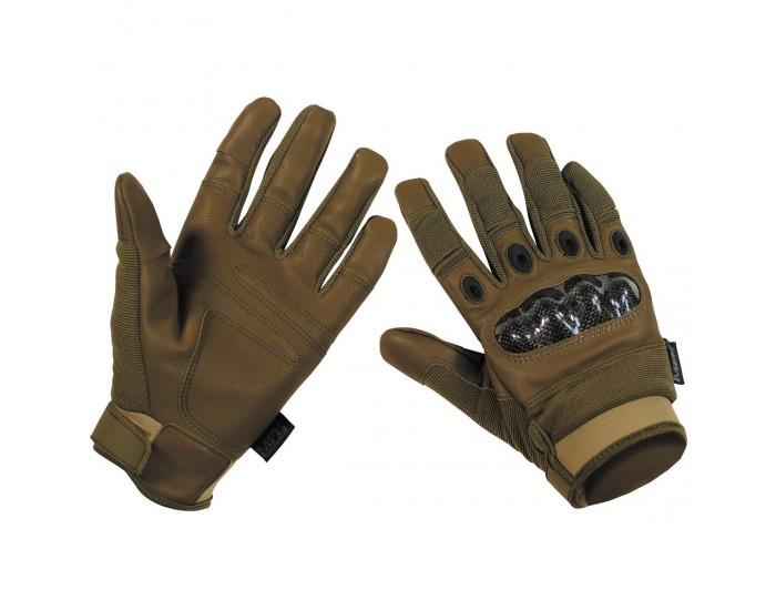 Перчатки тактические с откидными фалангами MFH Mission 15847R