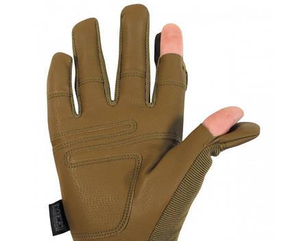 Перчатки тактические с откидными фалангами MFH Mission 15847R, фото 2