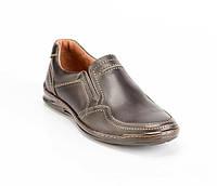 Мужские кожаные туфли Bastion 006 к.