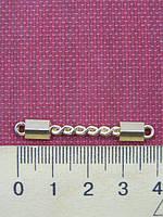 Планка пришивная металлическая