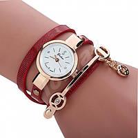 Женские часы-браслет со стразами Red