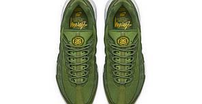 "Кроссовки Nike Air Max 95 x Stussy ""Green/White"", фото 2"