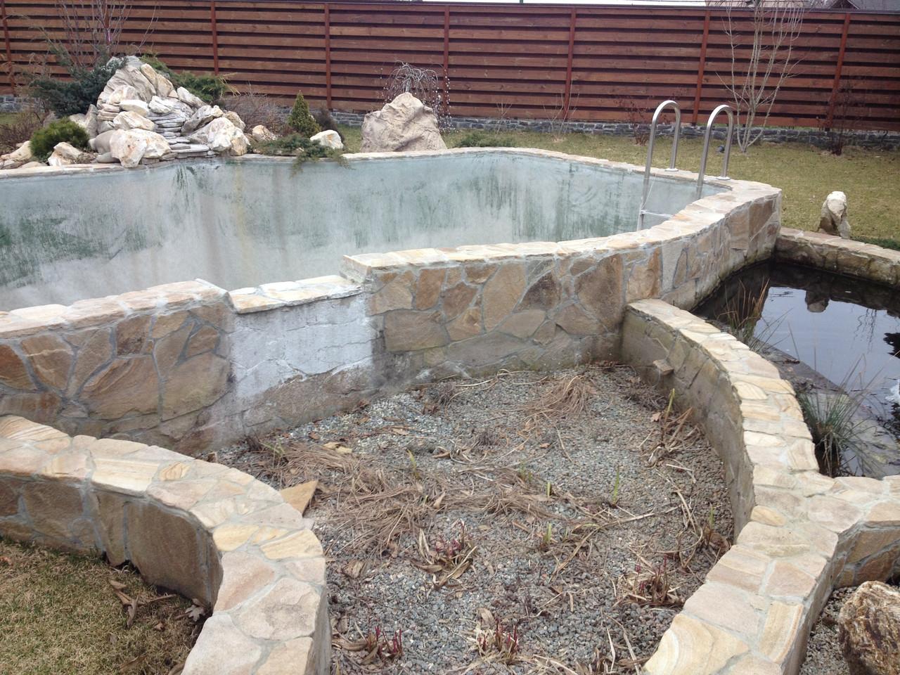 Демонтаж, перебудова існуючих водойм, водоспадів