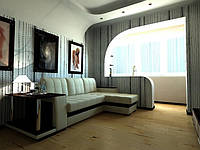 Объединение балконов и лоджий с комнатой