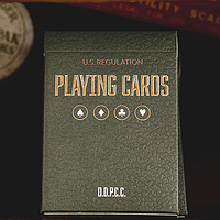 Карты игральные | Vintage Plaid (Arizona Red) Playing Cards by Dan and Dave