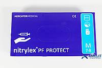 "Перчатки нитриловые НитрилексПротект (Nitrylex PF Protect), размер ""M"", 100пар/упак."