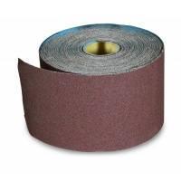 Бумага наждачная на тканевой основе, водостойкая, 200 мм 5 м, №40, 60, 80, 100, 120, 180, 240