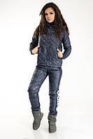 Женский дутый спортивный костюм батал. Кофта, брюки, жилетка. Все размеры. Разные цвета.