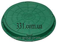 Люк садовий пластмасовий легкий (зелений) Импекс