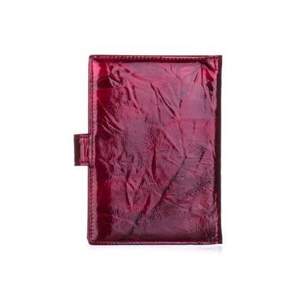 Обложка для паспорта женская кожаная Christian Dior красный гранит, фото 2