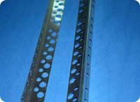 Наугольник алюминиевый (полу-контрашульц)12х25 3м