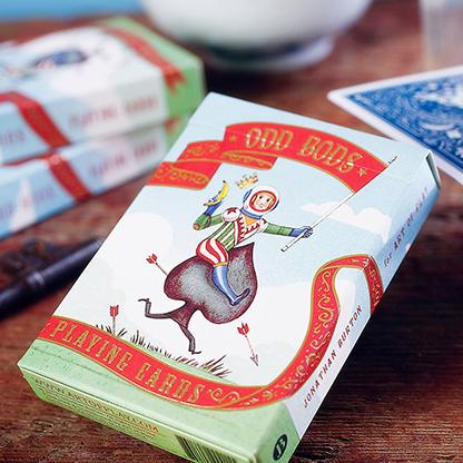 Карты игральные | Odd Bods Playing Cards by Jonathan Burton