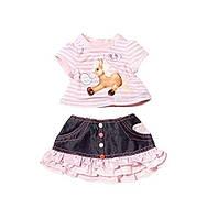 Одежда для кукол Беби Борн комплект одежды со звуками Baby Born Zapf  Creation 817612 29a2d61954d0a