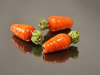 Морковь бусина лэмпворк  Арт.: 2163-18