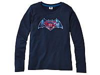 Футболка с длинным рукавом для мальчика Супермен, размер 158/164 (12-14 лет).