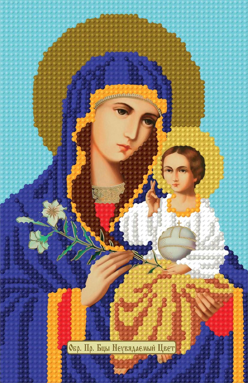 неувядаемый цвет икона схема вышивки крестом