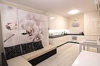 Шкаф-кровать с фотопечатью и диваном, фото 1