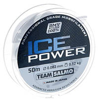 Леска моно Зимняя Team Salmo ICE POWER 0,082 / 50 м