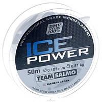 Леска моно Зимняя Team Salmo ICE POWER 0,103 / 50 м