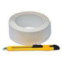 Лента-бордюр для ванн + нож  Favorit, 62 мм х 3,2 м