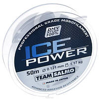 Леска моно Зимняя Team Salmo ICE POWER 0,121 / 50 м