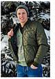 Демисезонная мужская  куртка AMERIKA батал оливка, фото 2