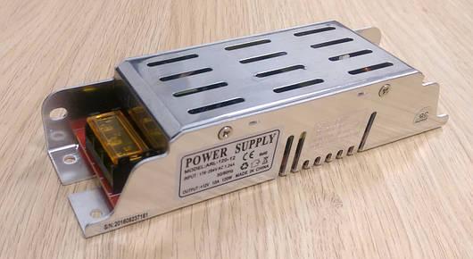 Блок питания компактный 12V 10А 120W для led ленты