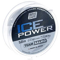 Леска моно Зимняя Team Salmo ICE POWER 0,163 / 50 м
