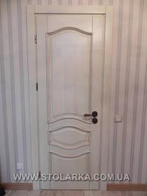 Двери двойные из ясеня