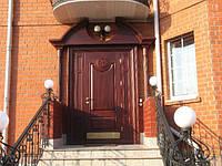 Двери дубовые в квартиру на заказ
