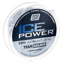 Леска моно Зимняя Team Salmo ICE POWER 0,182 / 50 м