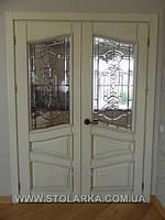 Распашные двери межкомнатные деревянные