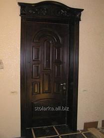 Входные двери для дома деревянные