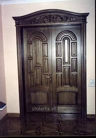 Двери деревянные в дом, производство дверей входных