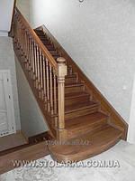 Лестницы из натурального дерева, производство лестниц