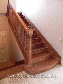 Лестницы модульного типа из натурального дерева