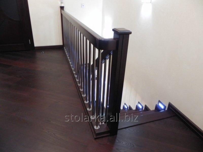 Производство лестниц деревянных