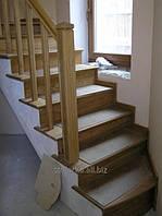 Лестницы для дачи элитные, деревянные маршевые лестницы