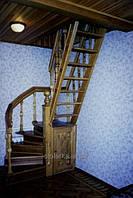 Красивые маршевые лестницы для коттеджей