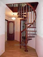 Производство деревянных лестниц для коттеджей