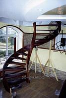 Радиальные лестницы деревянные, Стиль